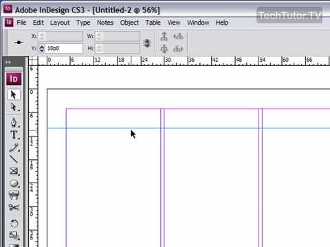 Use Snap To Guides in InDesign CS3