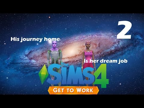 [Lets Play] The Sims 4 Get To Work: Part 2- The Arsonist