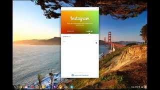 How to install Instagram on your Chromebook (Chrome OS)