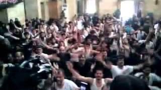 Mojza Halab - Chakwal Party - Ek Wari Sir Meku Babay Da Sajjad Bhira - Shaam (Syria) - 2012.flv