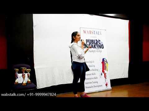 Blame Game | Harsimran (Student) | Grand Public Speaking Championship