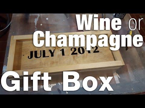 Wine or Champagne Gift Box
