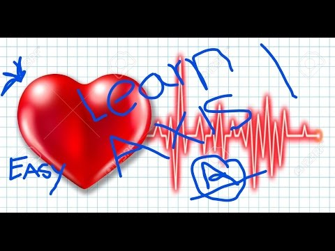 How to calculate axis of heart by just looking at ecg ekg