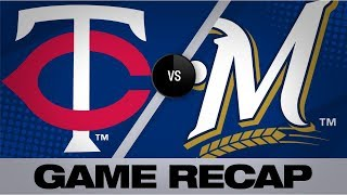 Download Marwin's go-ahead HR lifts Twins to 7-5 win | Twins-Brewers Game Highlights 8/13/19 Video