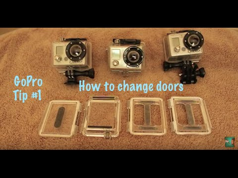 How To Change Backdoors - GoPro Tip #1