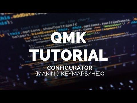 QMK Tutorial: QMK Configurator Preview (Creating Keymaps/Hex)