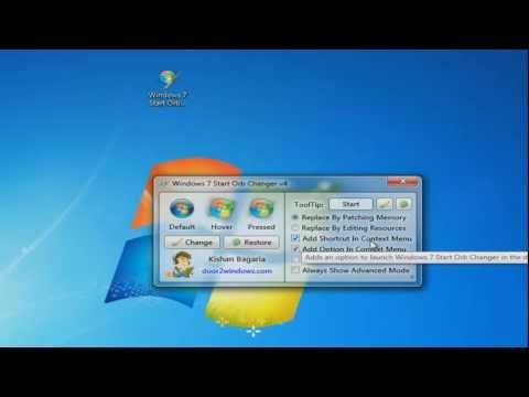 How to Change the Start Button on Windows 7