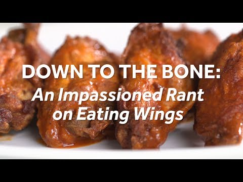 An Impassioned Rant on Eating Wings