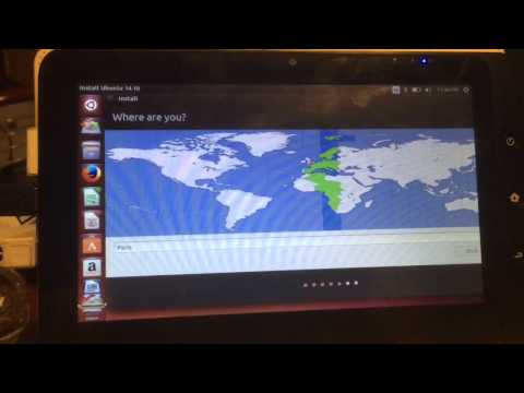HOW TO INSTALL ANY  UBUNTU To  X86 TABLET - Incl Creating Boot USB - 2015