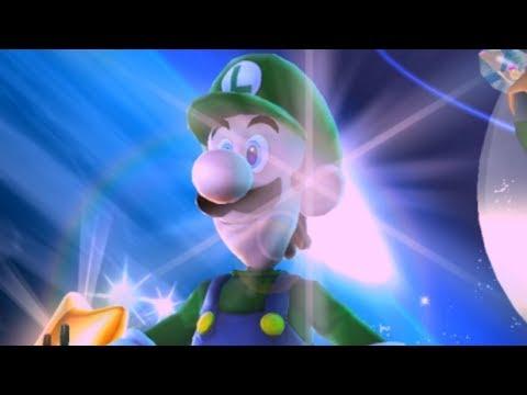 Super Luigi Galaxy Walkthrough - Part 24 - Purple Coin Missions (1/3)