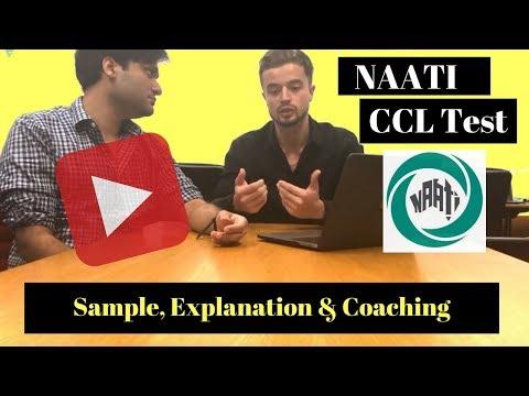 NAATI CCL TEST Sample, Explanation & Coaching
