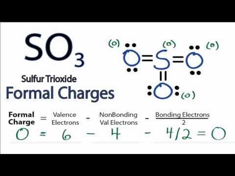 Calculating SO3 Formal Charges: Calculating Formal Charges for SO3