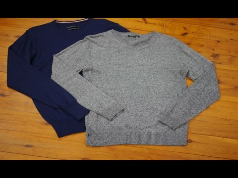 MEN'S STYLE TIPS: How to layer V-neck sweater