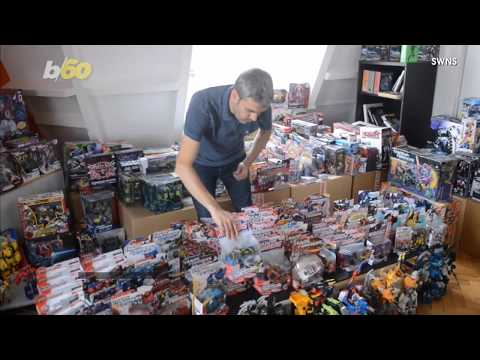 This Guy Owns A Fifth Of The World's Transformers Memorabilia   e