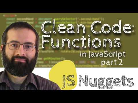 Clean Code: Functions (Part 2)