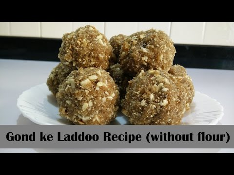 Gond ke Laddoo Recipe in Hindi By Cooking with Smita (without flour, Milk, Mawa) | Winter Special