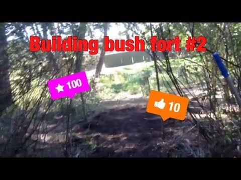 Building Bush Fort pt2