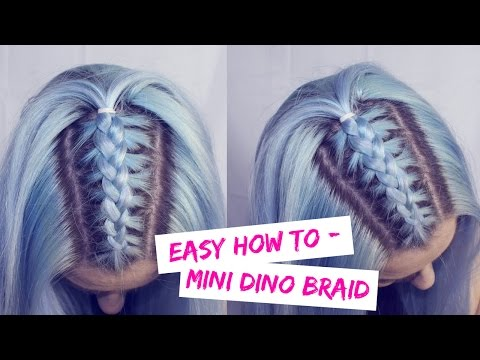 Easy How To : Mini Dino Braid | LoveFings