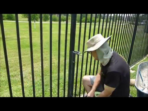 Repairing Tubular Steel Fencing Posts