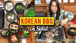 Download KOREAN BBQ in Seoul, South Korea Video