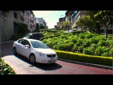San Francisco - Lombard Street, the Crookedest Street in the World