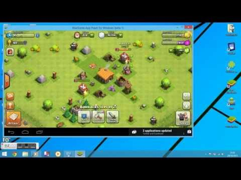 clash of clans on laptop windows 8