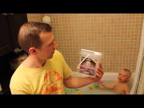 Hydrogen Peroxide Bath Video