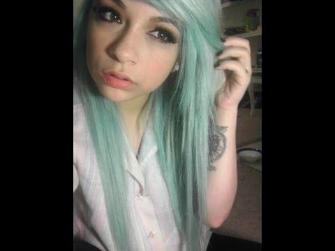 Dying My Hair - Light Pastel Blue /Turquoise/Aqua/Teal/Bubblegum Blue (Azure