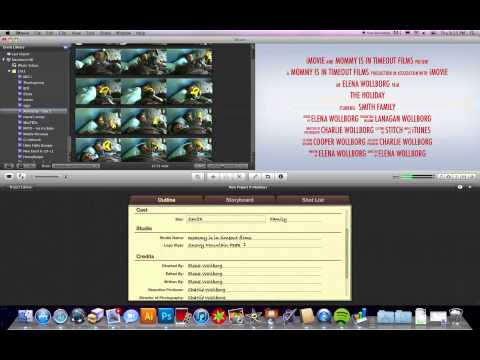 iMovie Tutorial: How to make a video trailer