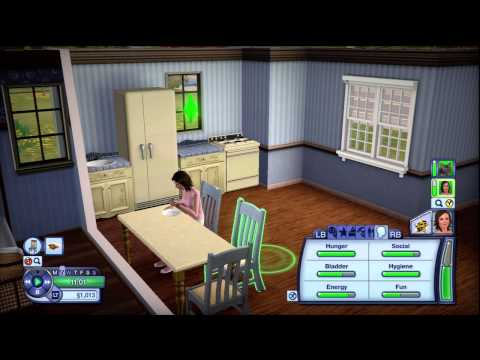 The Sims 3 Pets Xbox 360: Lets Play Episode 5 - Mysteriologist Registration / With commentary (HD)