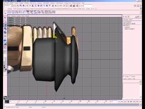 Light Saber Modeling In Maya 3d Part 1
