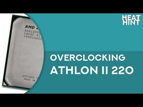 Overclocking AMD Athlon ll X2 220 up to 3.3 GHz
