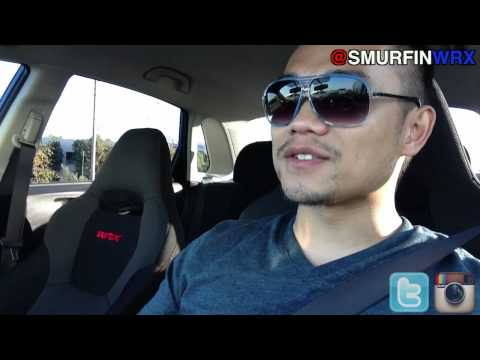 vLogs - Driving A Stick in Traffic 2011 Subaru WRX