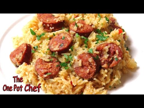 Chorizo Pilaf | One Pot Chef
