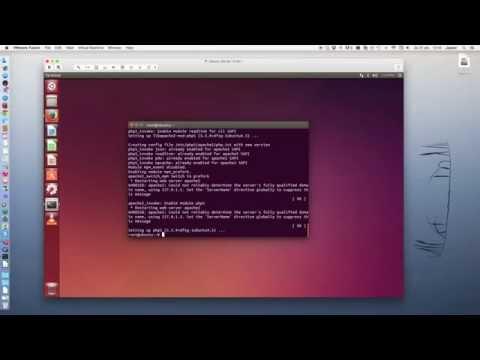 Installation of Drupal 8 on Ubuntu 14.04 lts, apache2, php, mysql and phpmyadmin tutorial