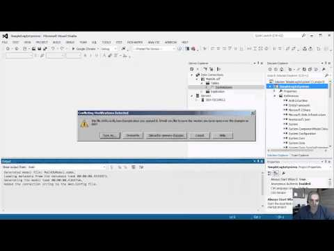 How to create a simple custom log in system - MVC 4 / Razor - Part 1 of 5