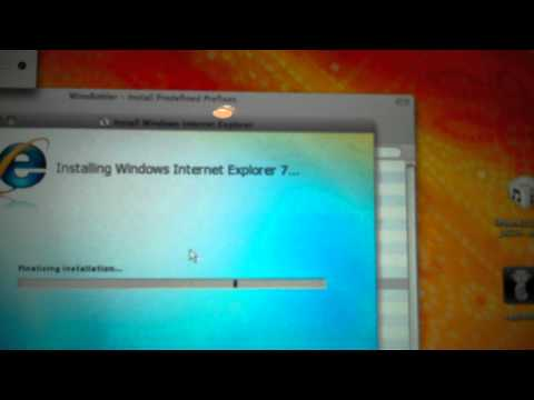 How to install Internet Explorer 6, 7, or 8 on a mac without windows