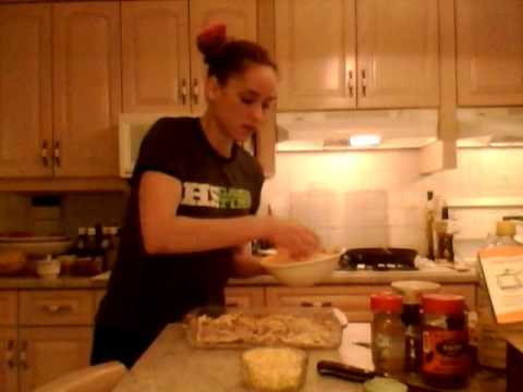 How to Cook Beef & Pulled Pork Mexican Lasagna: Cooking with Kimberly