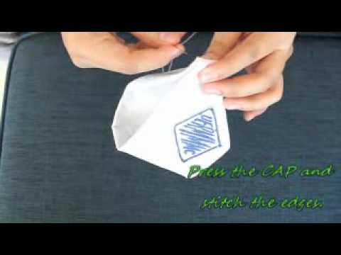 Folding of UERM Nurse's Cap