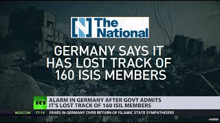 Missing in action: German govt admits losing track of 160 ISIS members