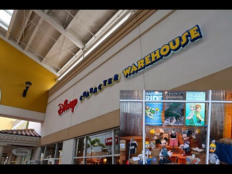 Disney Character Warehouse International Drive Premium Outlets