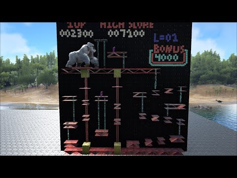 ARK Survival: Classic Donkey Kong Arcade - Stage 2/3