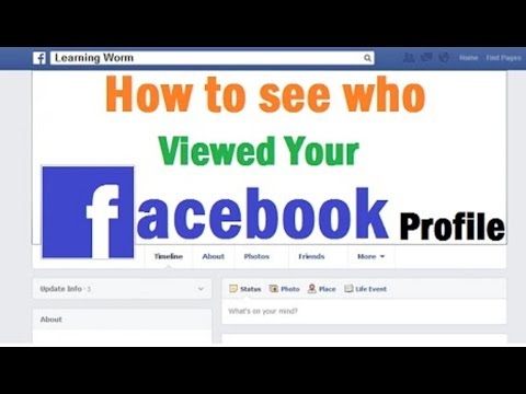 How To See ( check)  Who Viewed Your Facebook Profile Most Often