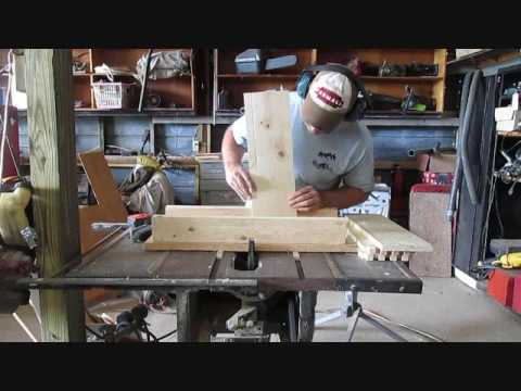Building finger joint beehives with only a tablesaw. With measurements