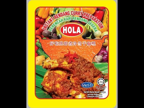 HOLA Instant Rendang Paste for Chicken