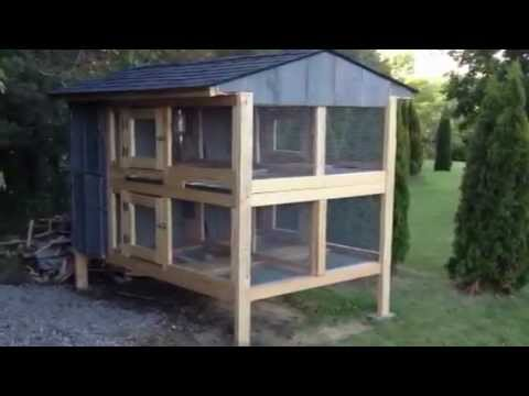 Canadian Rabbit Hutch - 4Hole - PART TWO