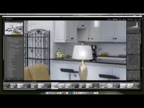 Real Estate Photo Retouching in Lightroom Tutorial
