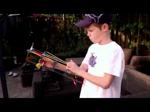Knex gun instructions Floris Smit part 1