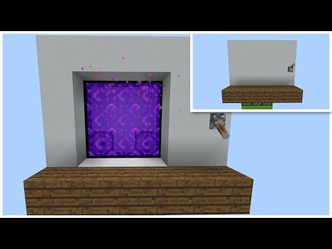 Minecraft Hidden 3x3 Nether Portal (PE/Xbox/Windows10/Switch)