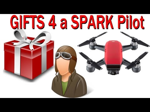5 Gift Ideas for a new DJI Spark pilot